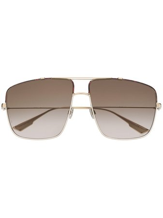 Dior Eyewear Monsieur 2 Aviator Sunglasses - Farfetch