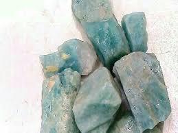 Aquamarine Rough Crystal Gemstone – Negative Ion Store