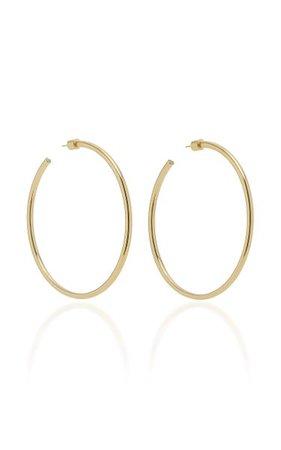 Classic 14k Rose Gold Hoop Earrings By Jennifer Fisher | Moda Operandi