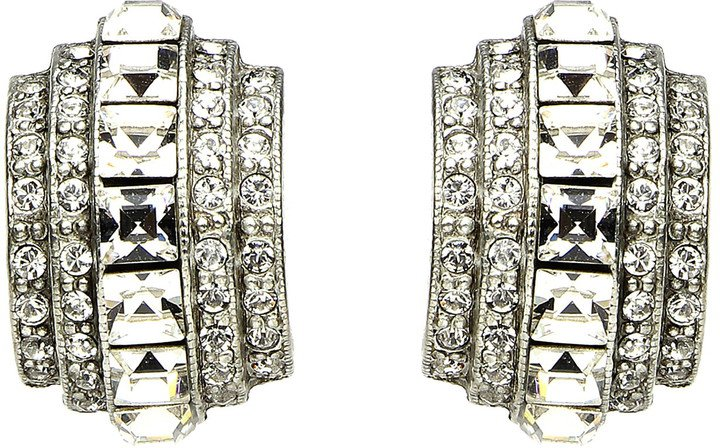 Elegance Crystal Clip Earrings