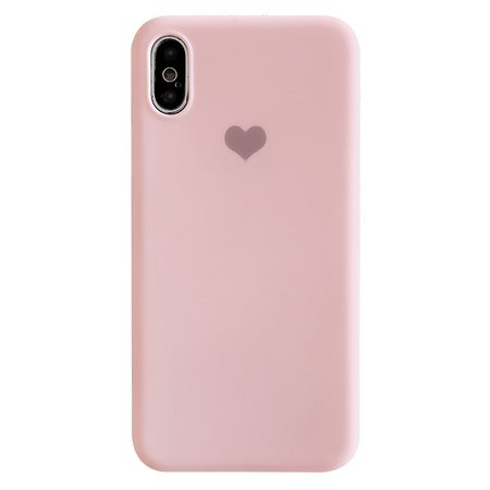 Buy Mobby Heart Print Phone Case - iPhone 6 / 6 Plus / 7 / 7 Plus / 8 / 8 Plus / X / Xr / Xs / Xs Max | YesStyle