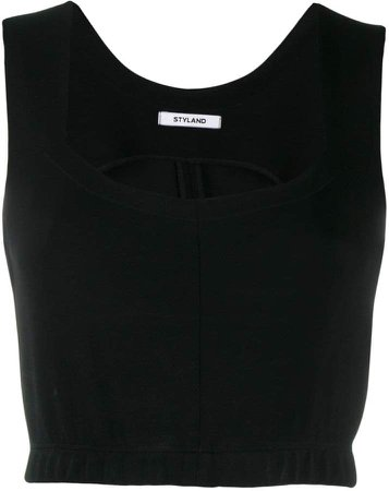 Styland cropped tank top