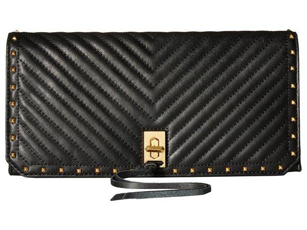Rebecca Minkoff - Becky Clutch (Black) Clutch Handbags