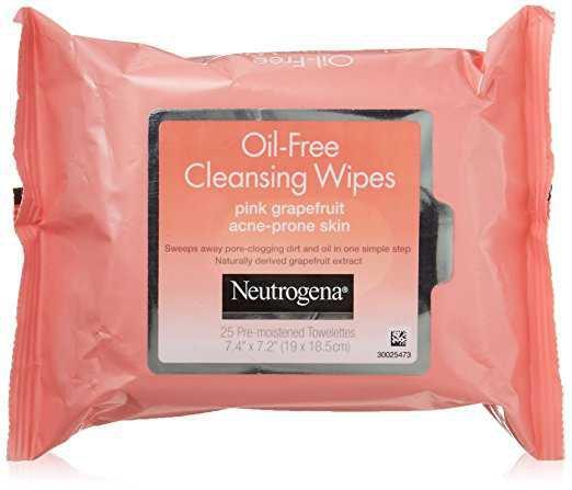 Amazon.com: Neutrogena Cleansing Wipes, Pink Grapefruit, 50 Count: Beauty
