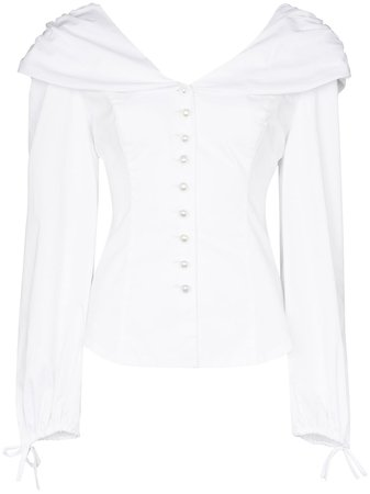 CLAN, Buttoned Blouse