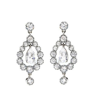 Zirconia And Sterling Silver Earrings - Bottega Veneta | Mytheresa