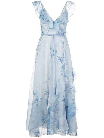 marchesa blue dress