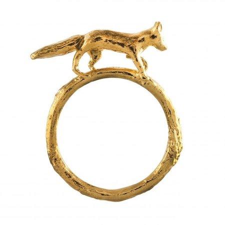 Alex Monroe Prowling Fox Ring