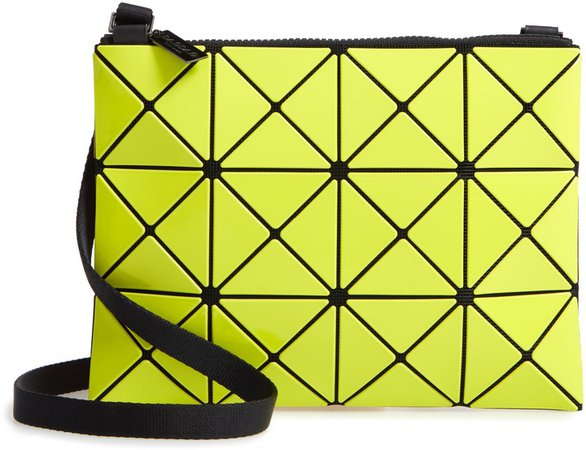 Lucent Two-Tone Crossbody Bag