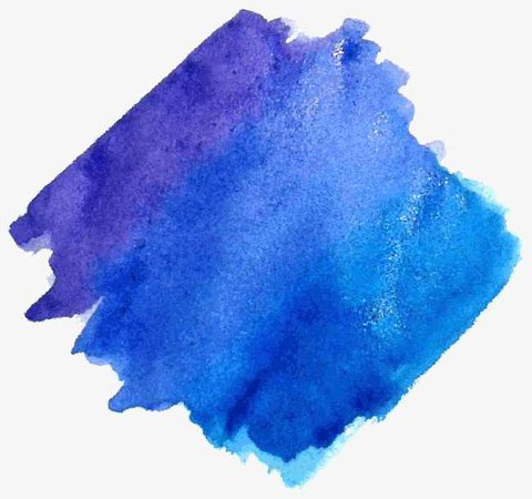 Blue Smudge Vector, Watercolor, Painting, Smear PNG and Vector for Free Download