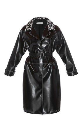 Eco-Leather Rain Coat by Philosophy di Lorenzo Serafini | Moda Operandi