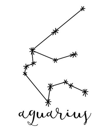 WallPops! Aquarius Constellation Decal Set | Zulily