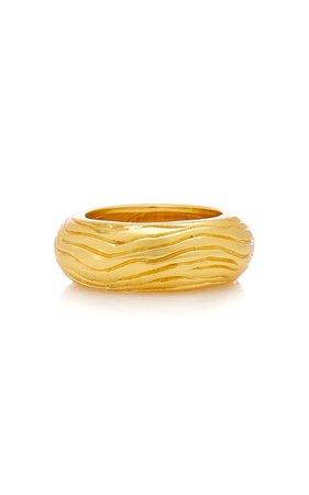 Gold-Tone Wavey Ring By Valére | Moda Operandi