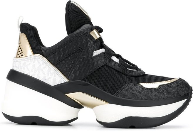 Olympia chunky-sole sneakers