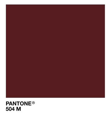 Pantone 504 M