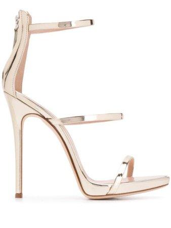 Giuseppe Zanotti Strappy 1300Mm Heel Sandals Ss20   Farfetch.com