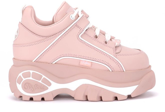 1339 Pink Leather Sneakers