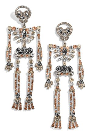 BaubleBar Bones Drop Earrings | Nordstrom