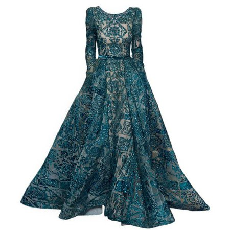 Dark Turquoise Gown