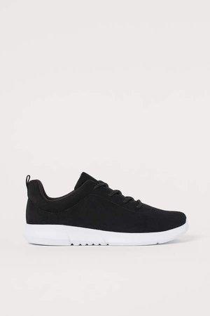 Lightweight Sneakers - Black