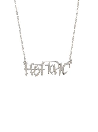 Hot Topic Classic Logo Necklace