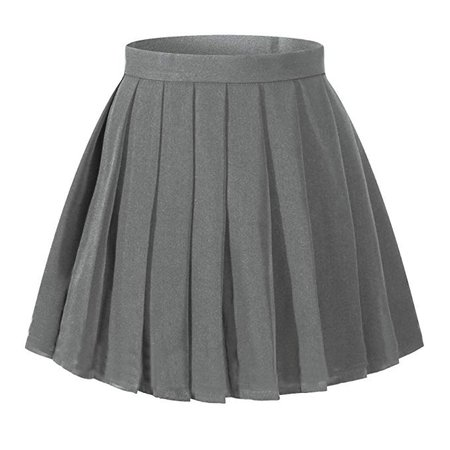 Amazon.com: Beautifulfashionlife Women's Japan high Waisted Pleated Cosplay Costumes Skirts: Clothing
