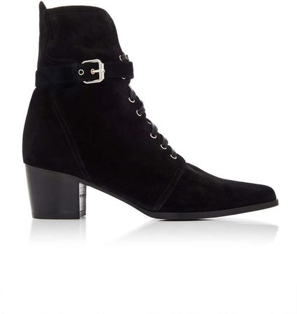 Porter Suede Ankle Boots Size: 36