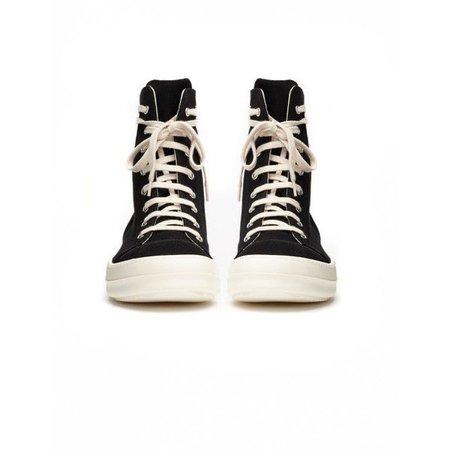 Drkshdw by Rick Owens Textile Sneakers ($374)