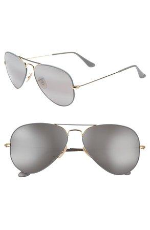 Ray-Ban Original Aviator 58mm Sunglasses | Nordstrom
