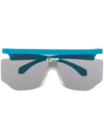 Off-White Mask rectangular-frame sunglasses - Farfetch