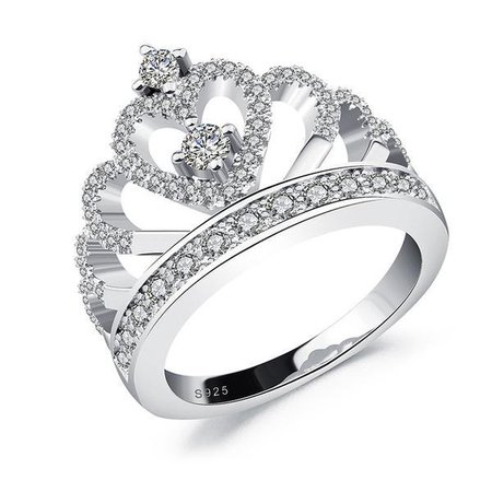 Diamond Princess Tiara Ring
