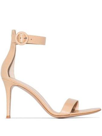 Gianvito Rossi Portofino 85mm sandals G6095385RICNAP - Farfetch