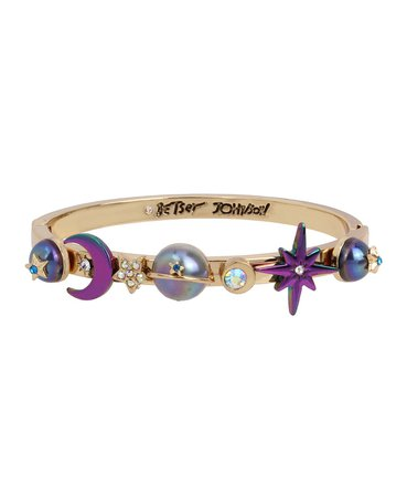Betsey Johnson Celestial Bangle Bracelet & Reviews - Bracelets - Jewelry & Watches - Macy's