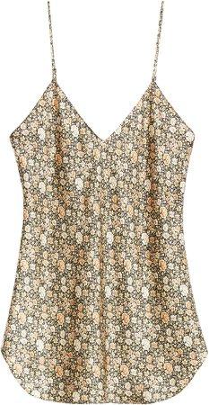 Isabella Dot Silk Camisole