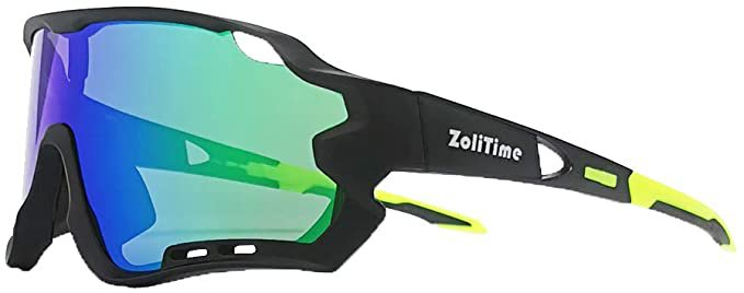 Amazon.com: 2020 New Cycling glasses Polarized Outdoor Sports Sunglasses With UV400 4 Interchangeable Lenses.: Clothing