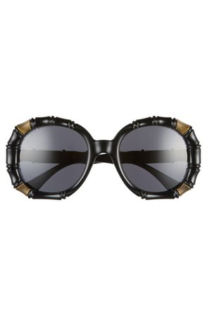 Gucci 54mm Round Sunglasses | Nordstrom