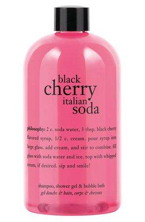 cherry Italian soda philosophy