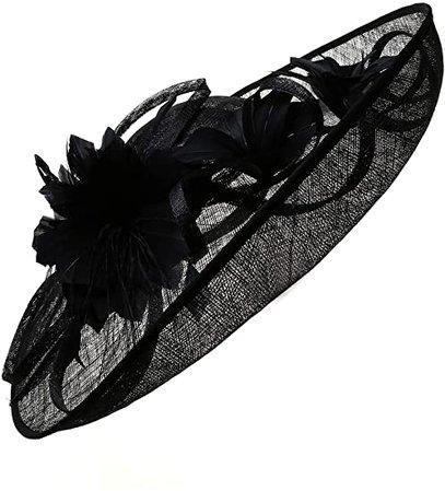 BABEYOND Fascinator Hat Feather Fascinator Tea Party Pillbox Hat