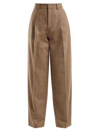 Brown cargo pants