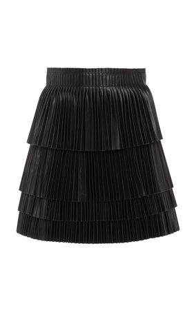 Briana High-Waisted Faux Leather Mini Skirt by Alexis | Moda Operandi