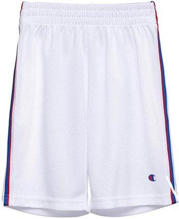 champion white shorts