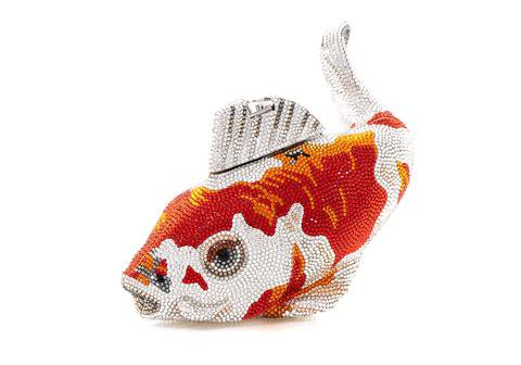 Koi Fish Ginrin Kohaku - Judith Leiber