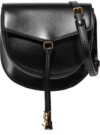 Datcha Leather Shoulder Bag - Black