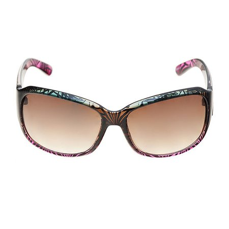 a.n.a Tropical Large Rectangle Womens Sunglasses, Color: Tropical Gradient - JCPenney