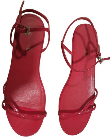Pink Patent leather Sandals