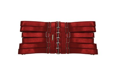 Yeha Waist Cincher ( Red + Silver ) · CREEPYYEHA · Online Store Powered by Storenvy