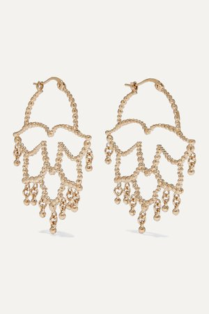 Gold Gold-tone earrings | Etro | NET-A-PORTER