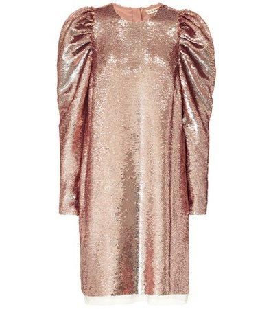 Sequinned minidress