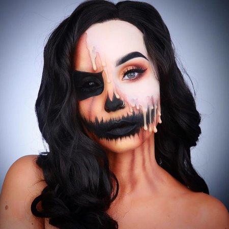 """𝔐𝔞𝔯𝔦𝔬𝔫 𝔐𝔬𝔯𝔢𝔱𝔱𝔦 on Instagram: """"H a l l o w e e n SERIES • 1/31 🇫🇷 Le premier look de ma série Halloween est en ligne sur ma chaîne ! Je vous ai fait un classique, la…"""""""