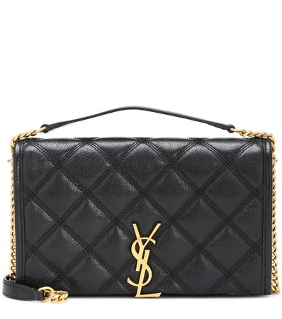 Quilted Leather Shoulder Bag - Saint Laurent | Mytheresa